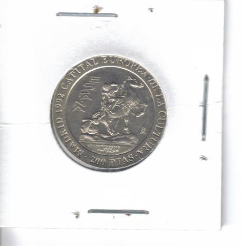 Moneda De  200 Ptas. Del  92  (S/C)