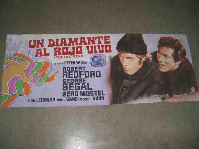 Cartel  Cine ,Un Diamante Al Rojo Vivo