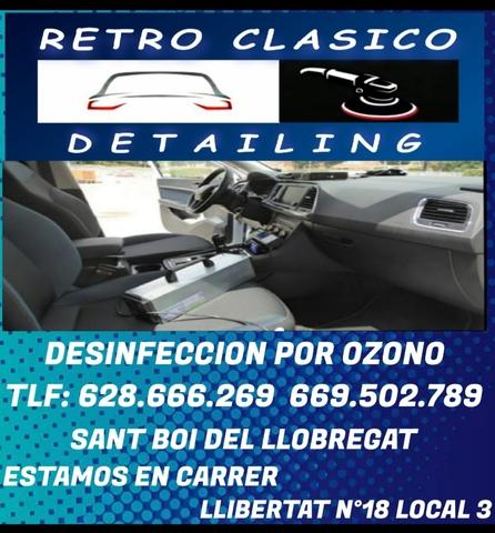 SERVICIO -RETRO CLASICO DETAILING- - foto 2