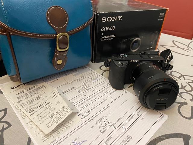 SONY A6500 + OBJETIVO CARL ZEISS - foto 1