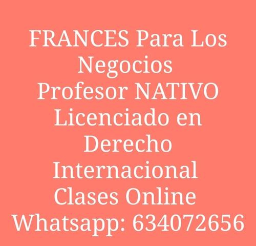 CLASES DE CONVERSACIÓN FRANCÉS.  NATIVO - foto 1