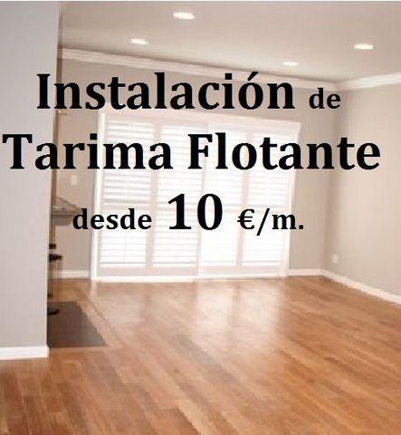 INSTALACIÓN TARIMA FLOTANTE - foto 1