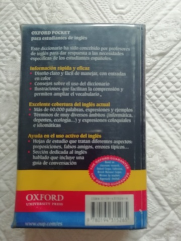 DICCIONARIO INGLÉS OXFORD - foto 2