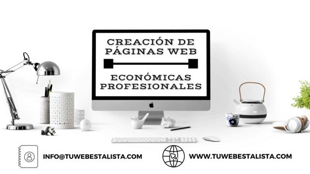 CREACIÓN DE PÁGINAS WEB PROFESIONALES - foto 2