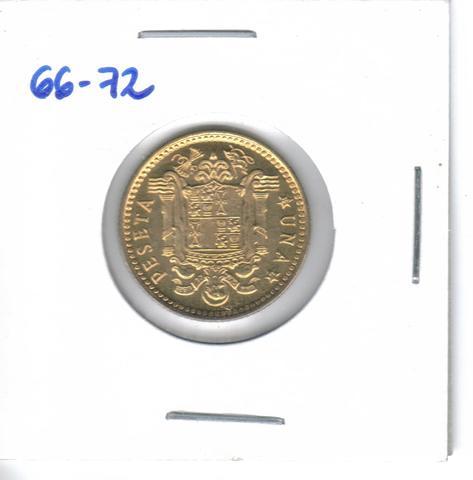 Tres Monedas De 1 Pta. De  1966*72  (S/C