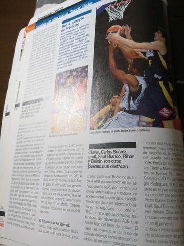 VENDO REVISTA GUÍA BALONCESTO AÑO 2008 - foto 6