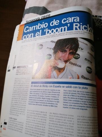 VENDO REVISTA GUÍA BALONCESTO AÑO 2008 - foto 7