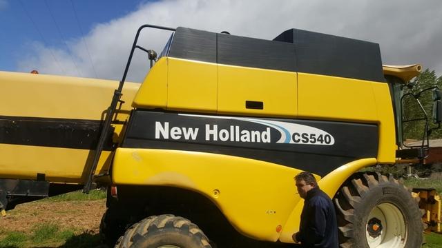 NEW HOLLAND CS540 - foto 2