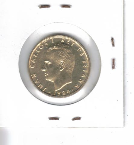 Moneda De  100 Ptas. De  1984  (S/C)