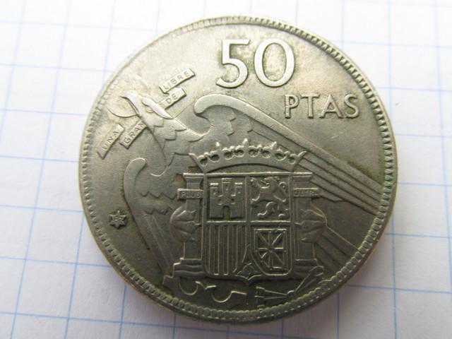 Pesetas De Franco Moneda  50
