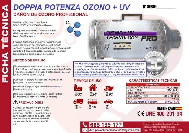 EL MEJOR MATA VIRUS OZONO + ULTRAVIOLETA - foto 4