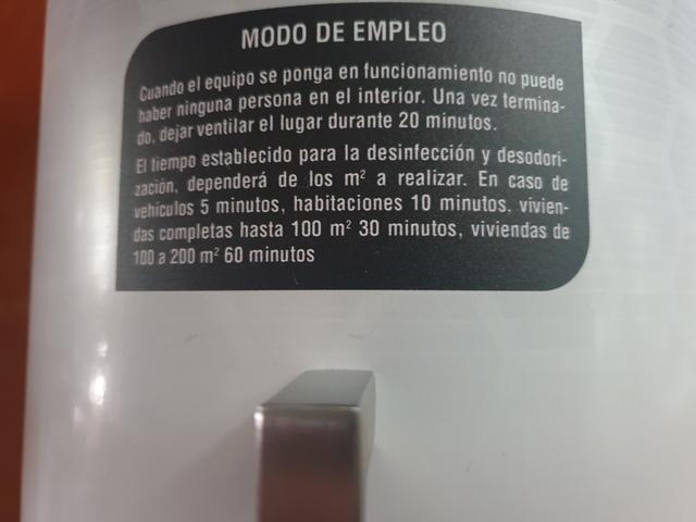 EL MEJOR MATA VIRUS OZONO + ULTRAVIOLETA - foto 6