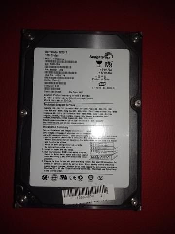 SEAGATE BARRACUDA HDD 160GB - foto 2