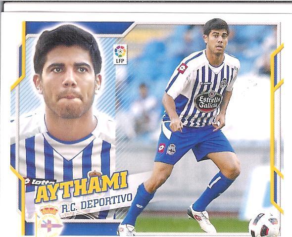 Este 10-11:   Aythami  (Deportivo)