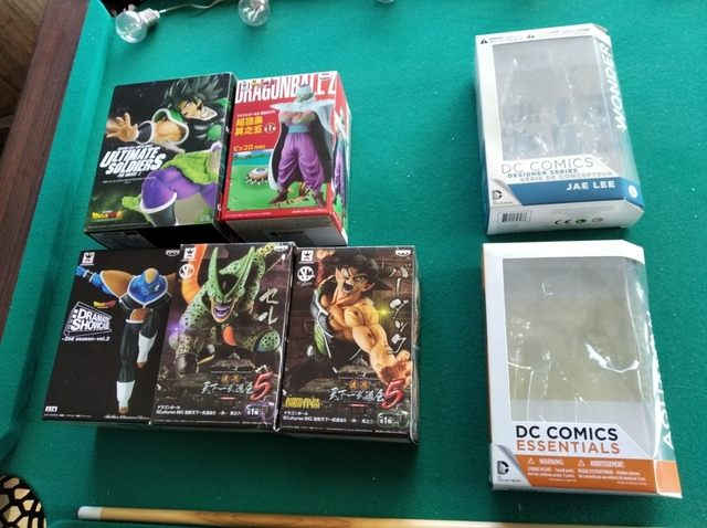 Cajas Vacías De Figuras De Dragon Ball Z
