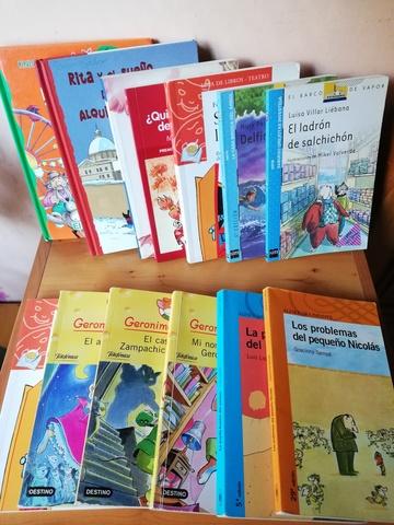 12 LIBROS INFANTILES LECTURA CASTELLANA - foto 1