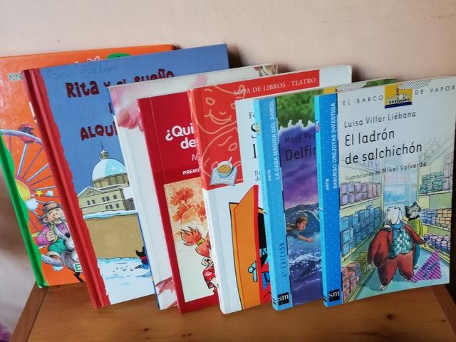 12 LIBROS INFANTILES LECTURA CASTELLANA - foto 3