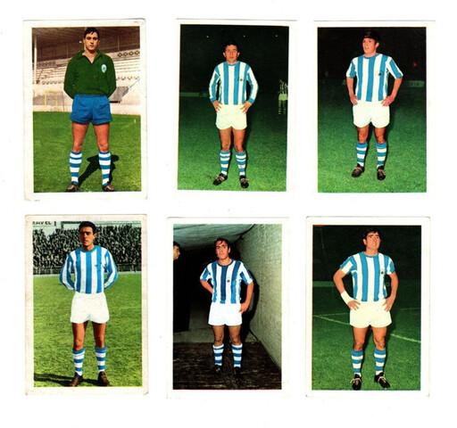 REAL SOCIEDAD (FHER 1. 968/69) 7 CROMOS.  - foto 1