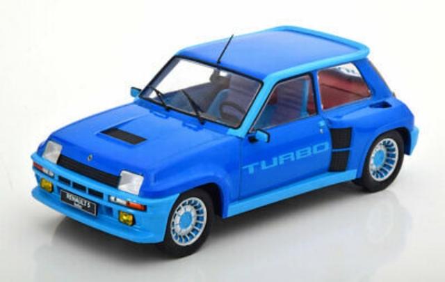 1:18 Ixo Renault 5 Turbo Metallic-Azul
