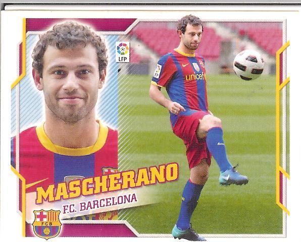 Este 10-11:   Mascherano  (Barcelona)