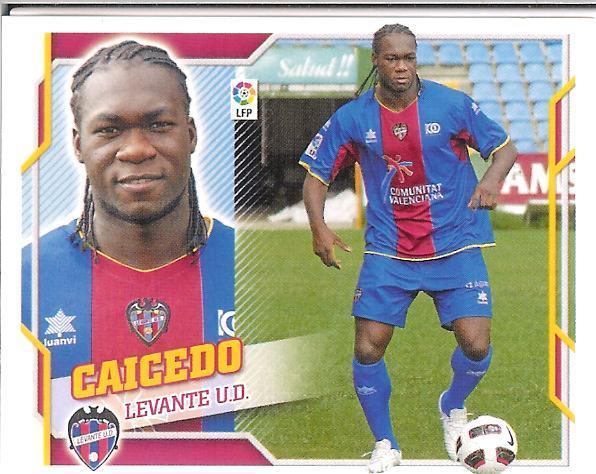 Liga Este 10-11:   Caicedo  (Levante)