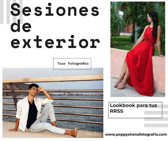 SESIÓN FOTOGRÁFICA EN EXTERIOR.  TOUR.  - foto 1