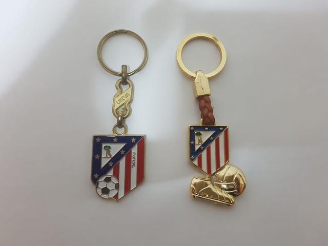 Llaveros Atletico De Madrid.