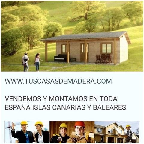CASAS DE MADERA OFERTAS TODOS LOS MESES - foto 1