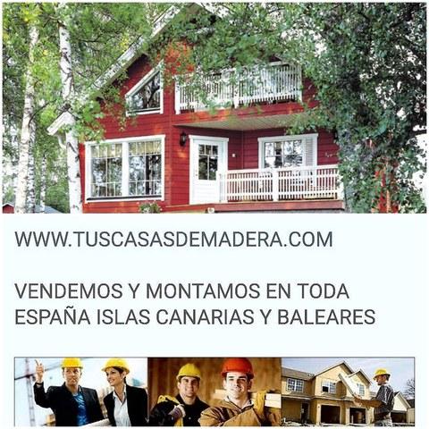 CASAS DE MADERA OFERTAS TODOS LOS MESES - foto 2