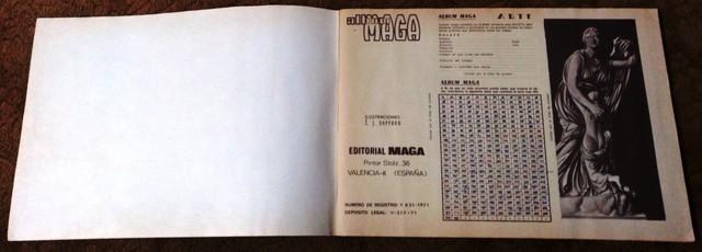 ALBUM ARTE COMPLETO (MAGA 1. 971) - foto 2