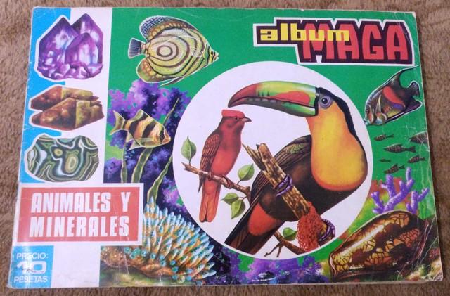 ALBUM ANIMALES Y MINERALES COMPLETO - foto 1