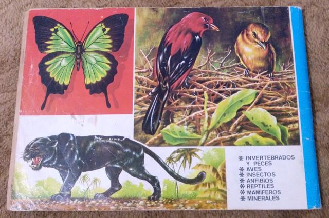 ALBUM ANIMALES Y MINERALES COMPLETO - foto 9