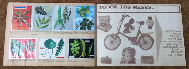 ALBUM ZOOLOGIA Y BOTANICA COMPLETO - foto 8