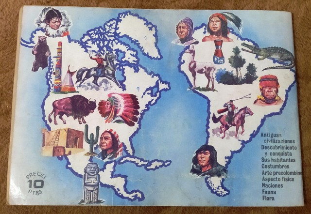 ALBUM AMERICA Y SUS HABITANTES (1. 968) - foto 9