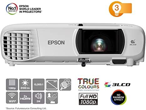PROYECTOR EPSON 820HD FULL HD 1080P - foto 1