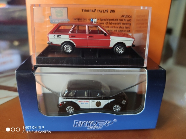 Lote Chrysler Y Vw Passat 1:87/ H0