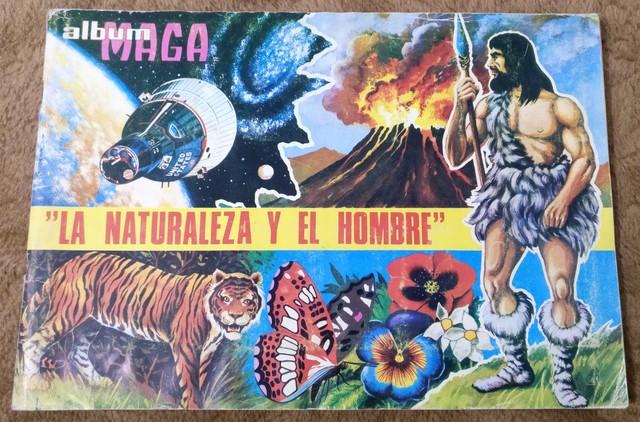 ALBUM LA NATURALEZA Y EL HOMBRE COMPLETO - foto 1