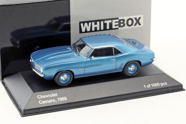 Chevrolet Camaro 1 /43  Azul