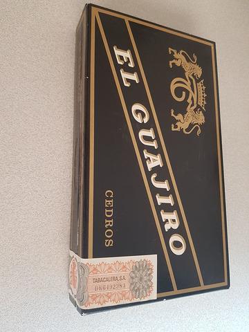 Caja De Puros Cedros El Guajiro