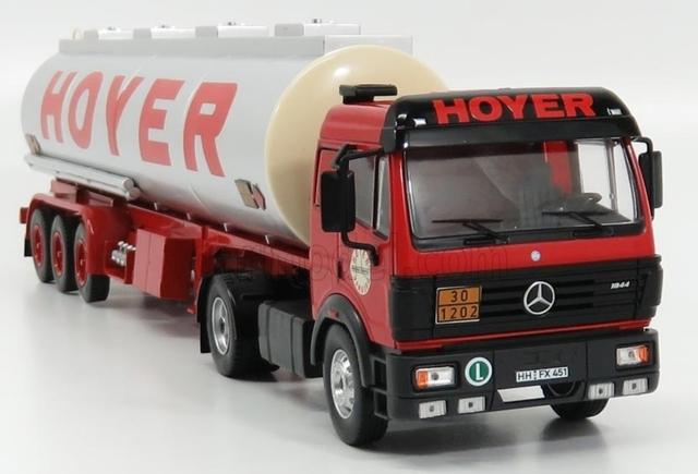 Ixo Mercedes Cisterna Camion