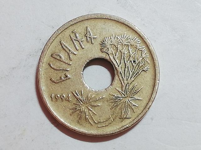Moneda 25 Pesetas - Canarias 1994