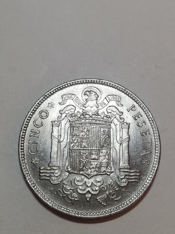 Moneda 5 Pesetas 1949 - *49