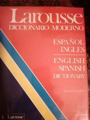 DICCIONARIO ESPAÑOL-INGLES,  LAROUSSE - foto 1