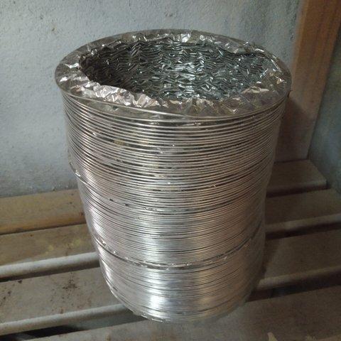 Tubo Flexible Aluminio Reforzado Alambre
