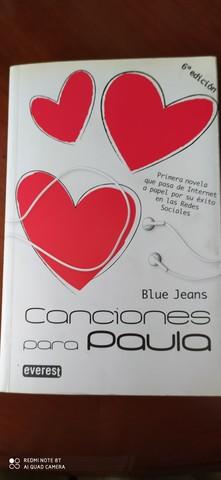 CANCIONES PARA PAULA (BLUE JEANS)(NUEVO) - foto 1