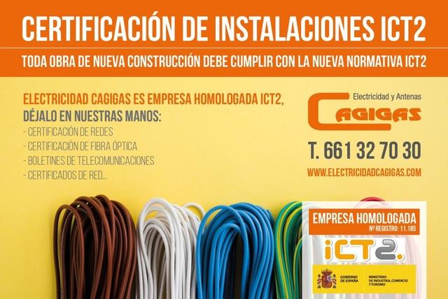 CERTIFICACION REDES Y FIBRA ÓPTICA ICT2 - foto 1