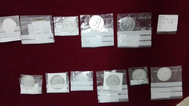 Monedas Plata Amadeo L Y Alfonso Xll