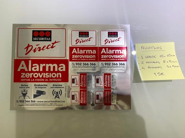 Carteles De Alarma De Securitas