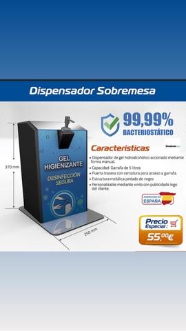 DISPENSADOR HIDRAALCOLICO AUTOMATICO - foto 2