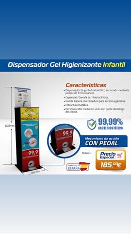 DISPENSADOR HIDRAALCOLICO AUTOMATICO - foto 4